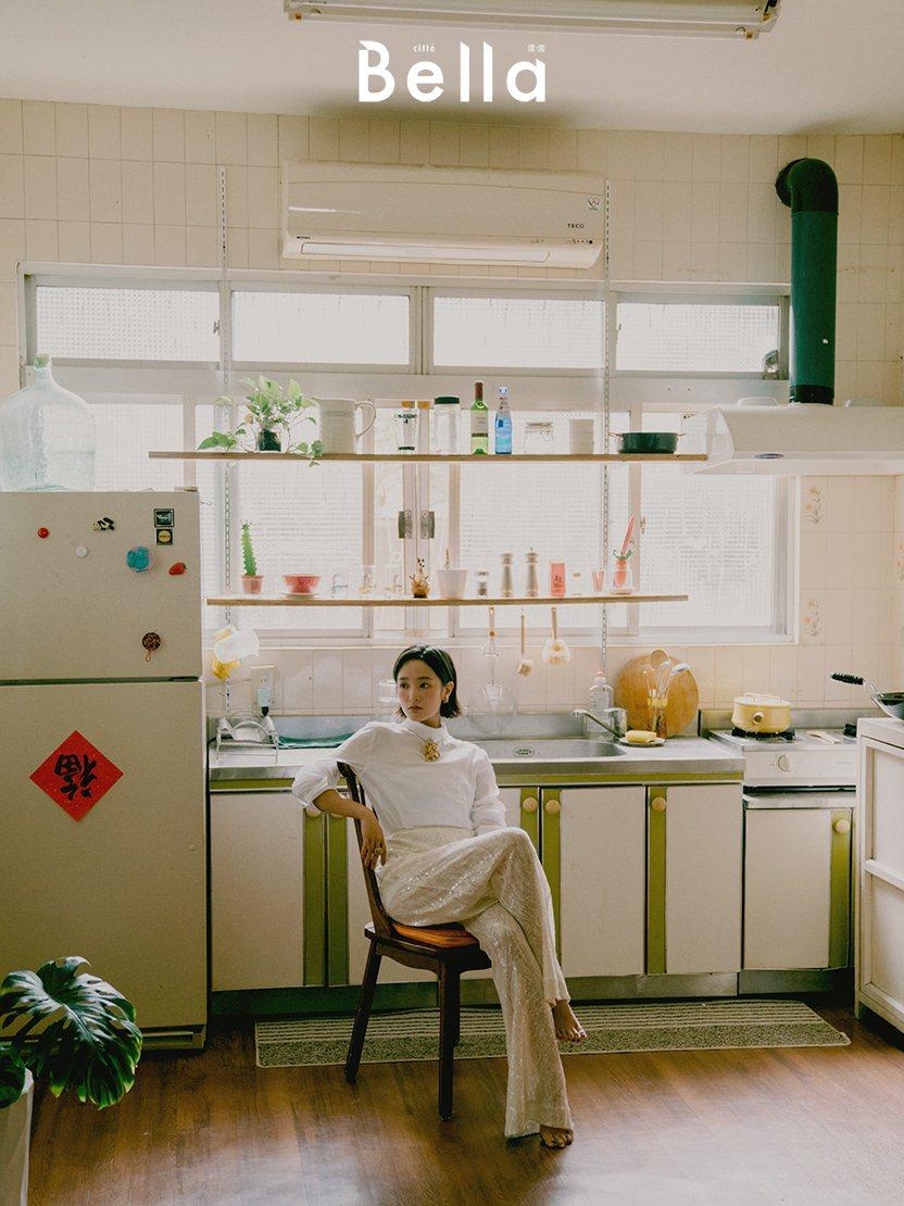 王凈自曝曾因被關注的壓力太大,躲廁所爆哭。圖/Bella儂儂提供