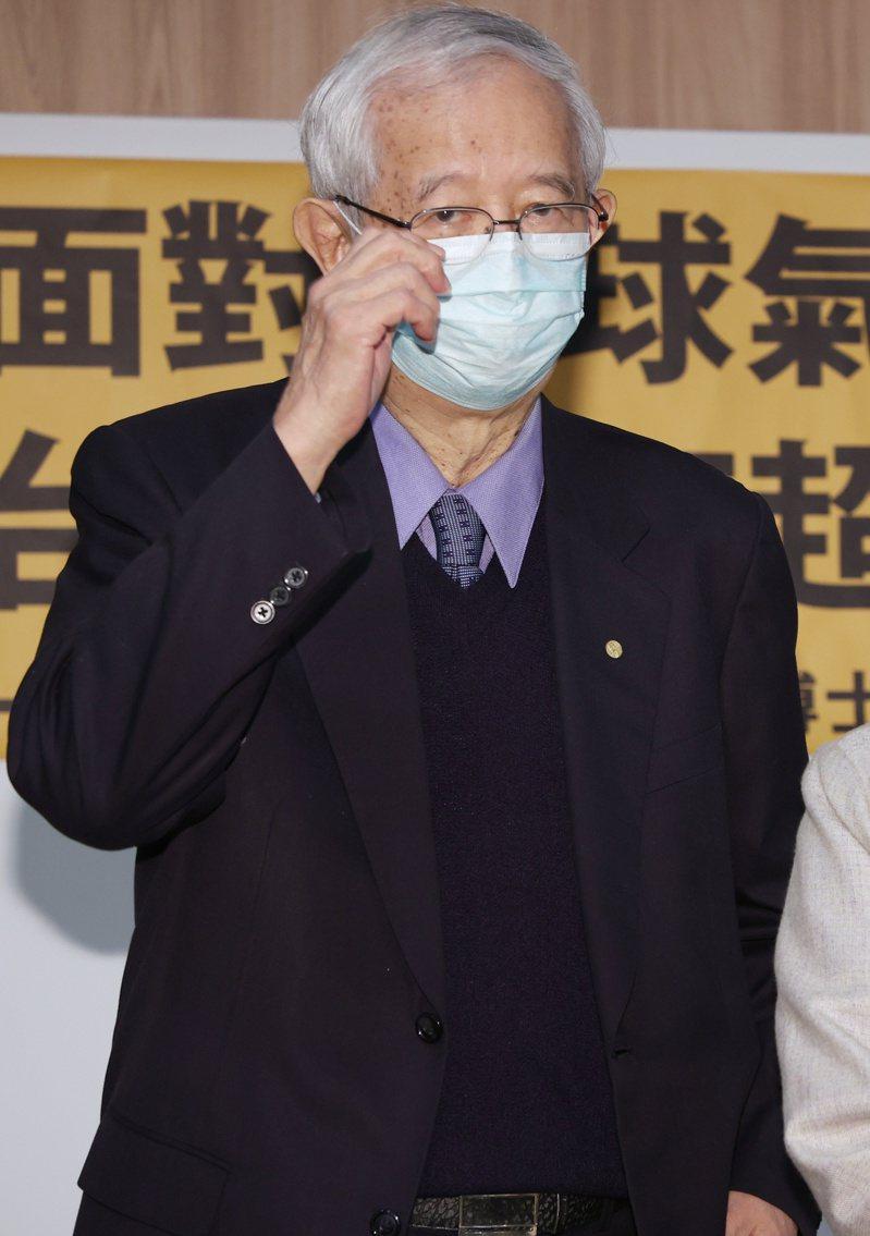 中央研究院前院長李遠哲。攝影/記者曾原信