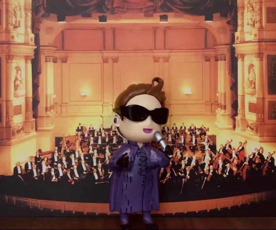 出道30年的林志炫首度推出收錄新專輯、演唱會精華的Q炫公仔USB。圖/炫音音樂提...