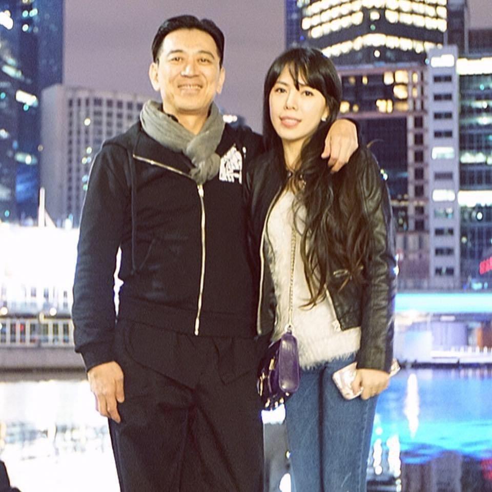 高捷和老婆陳泯蓁2004年結婚至今依然非常恩愛。圖/摘自臉書
