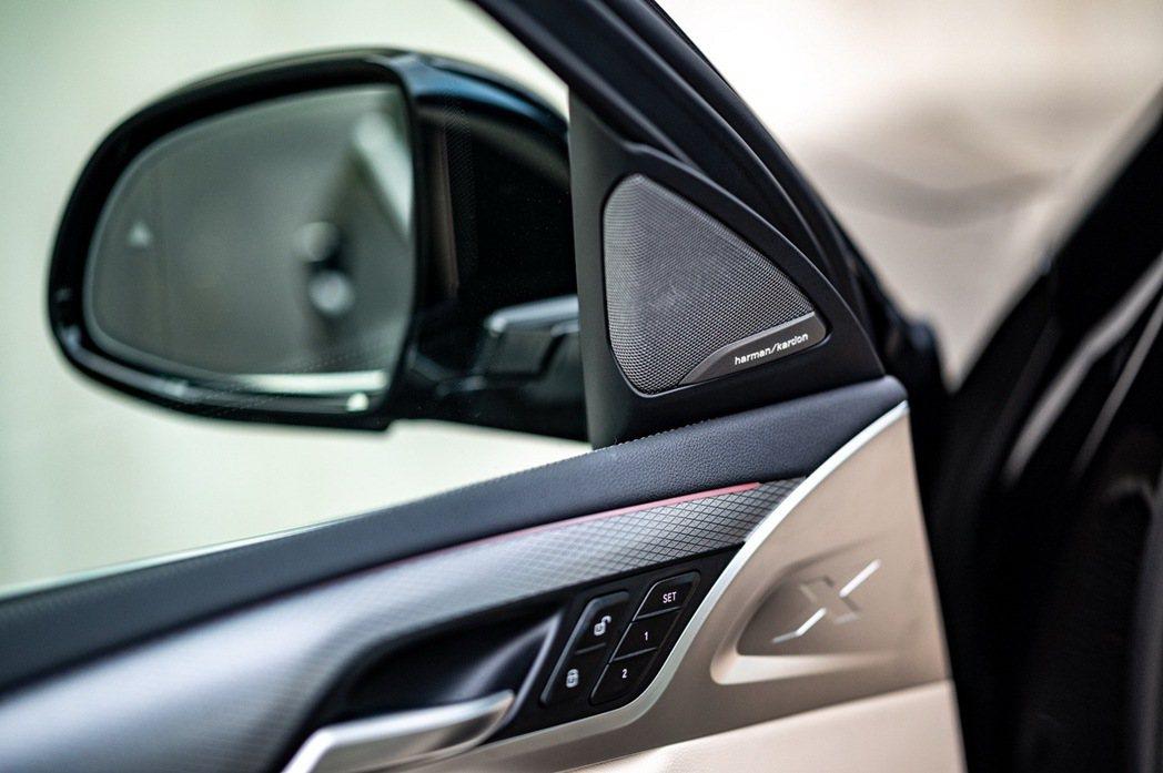BMW將harman kardon高音喇叭組更列為白金領航版全車系標準配備,讓每...