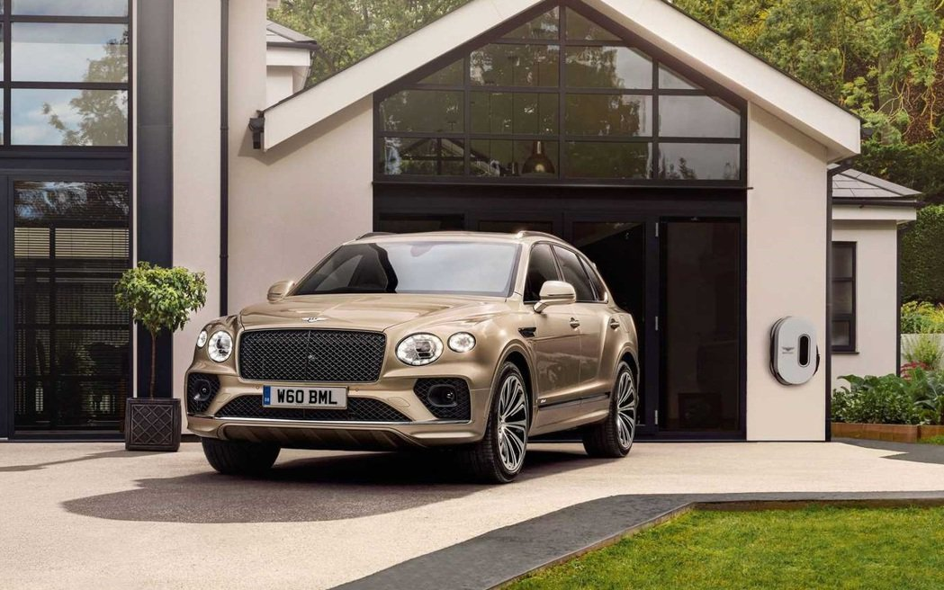 Bentley Bentayga Hybrid。 圖/Bentley提供