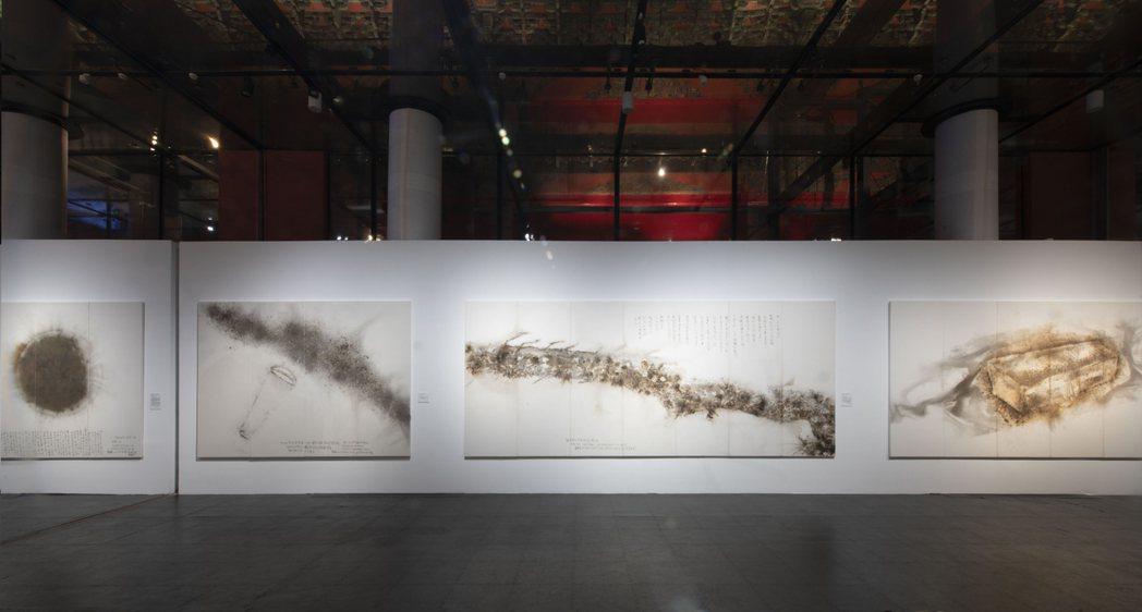 蔡國強對話宇宙精選作品。 圖/林毅攝影,蔡工作室&誠品畫廊提供