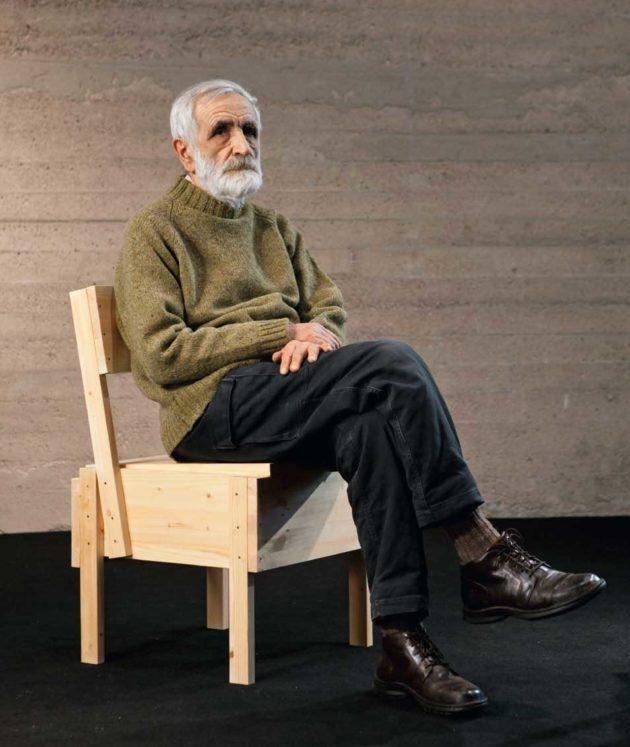 義大利設計教父Enzo Mari。圖/摘自IG