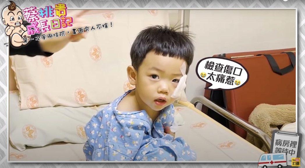 蔡桃貴受傷動手術。圖/擷自YouTube
