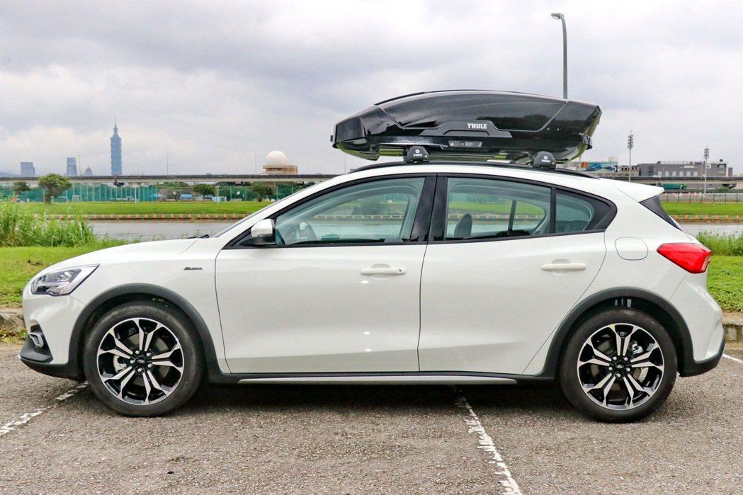 Focus Active擁有中型車的充裕大器尺碼。 記者陳威任/攝影
