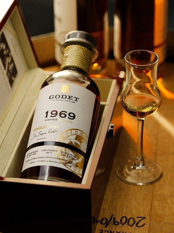 GODET 1969 / 50年干邑原酒,全球僅限量60瓶。 英蓋爾精品洋酒/提...