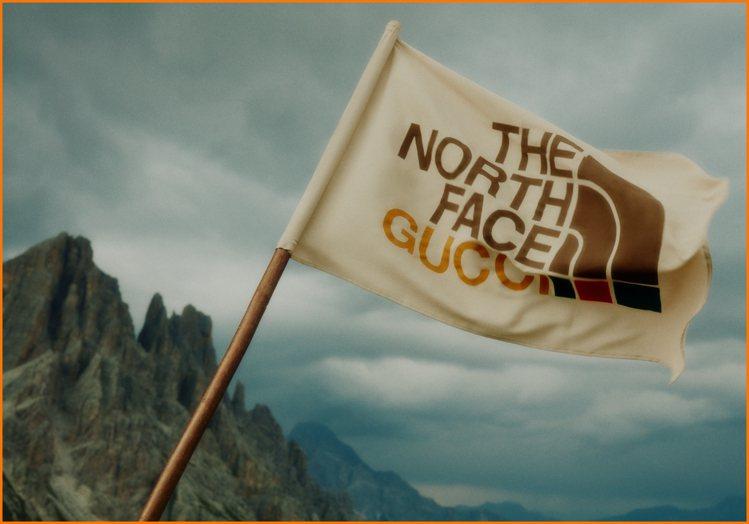 倫敦Gucci Artwalls選擇呈現的是The North Face x G...