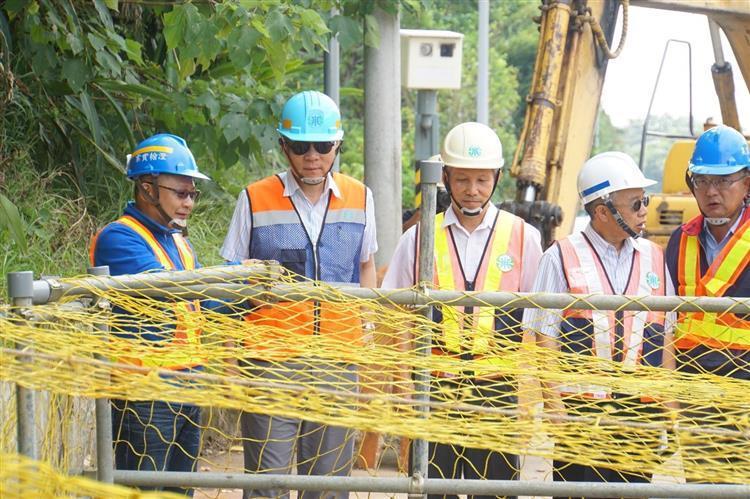 為改善新竹地區及竹科園區等民生與產業的供水穩定,台水提前完成桃竹備援管線工程。 圖/台水公司提供