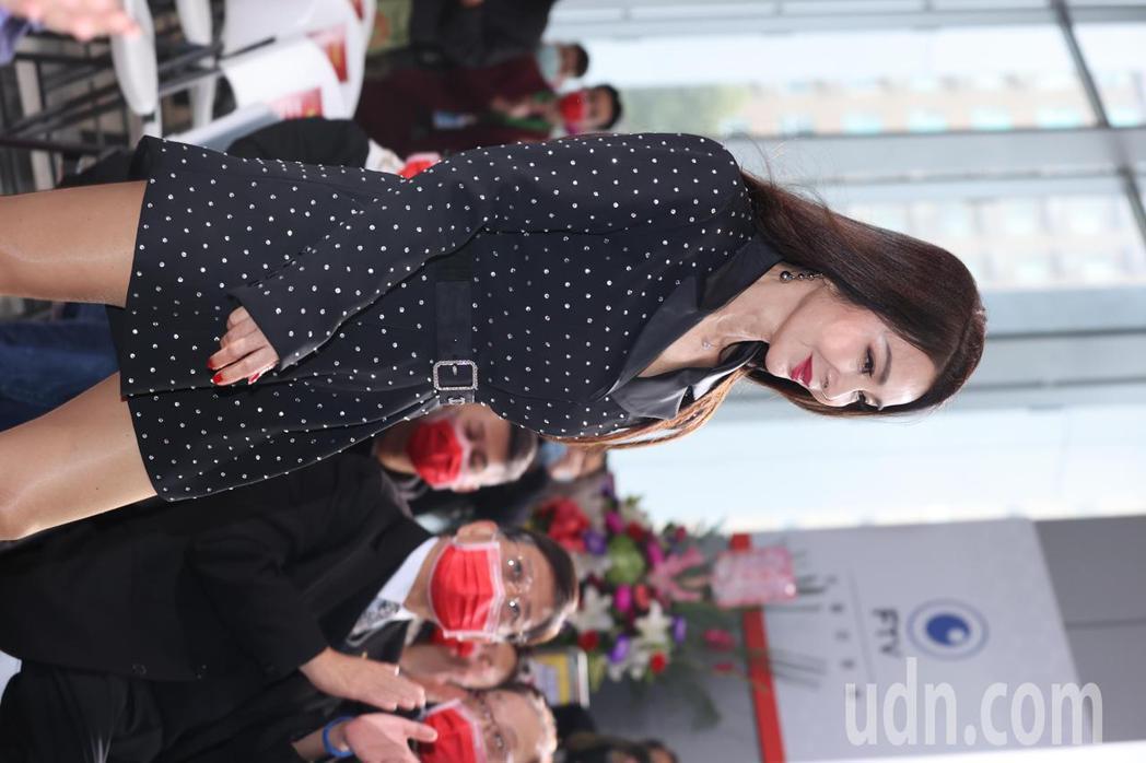 「黃金歲月」開鏡記者會,美魔女陳美鳳再戰八點檔。記者陳正興/攝影