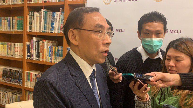 蔡清祥今天說「石木欽案」案外案調查最後彙整中。記者王聖藜/攝影