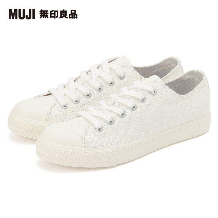 momo購物網「2020十大風雲商品」:MUJI無印良品撥水加工有機棉舒適休閒鞋...