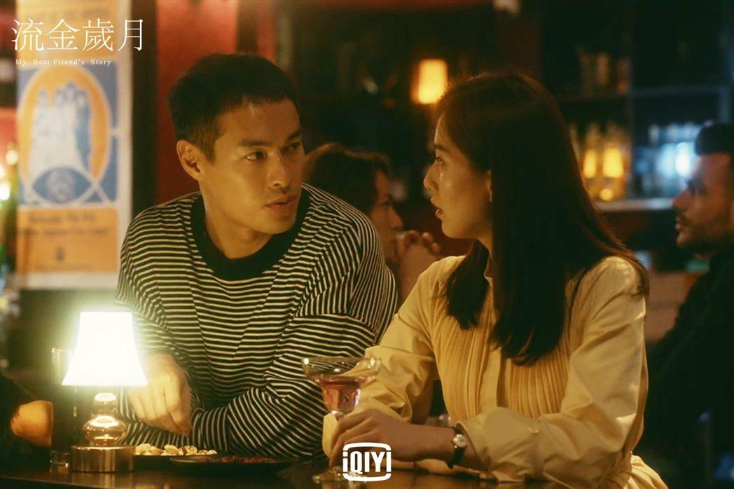 楊祐寧(左)和劉詩詩在劇中配對。圖/愛奇藝國際站提供