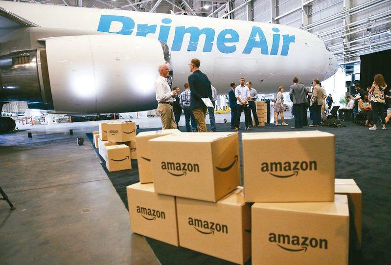 美國電商巨頭亞馬遜購入11架中古波音飛機,以擴充貨運機隊。(美聯社)