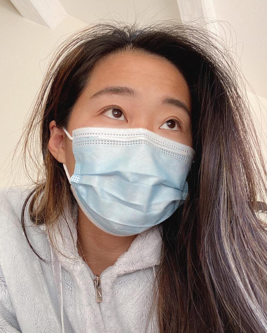 亞歷媽確診新冠肺炎後,報告目前健康恢復狀況。 圖/擷自亞歷媽IG