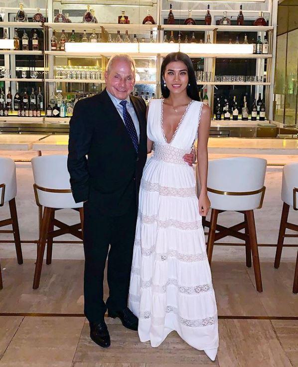 從事時裝生意的72歲美國富豪Wynn Katz日前公布與26歲的越南選美小姐女友Co Ngan結婚的喜訊。圖擷自@cokimngan