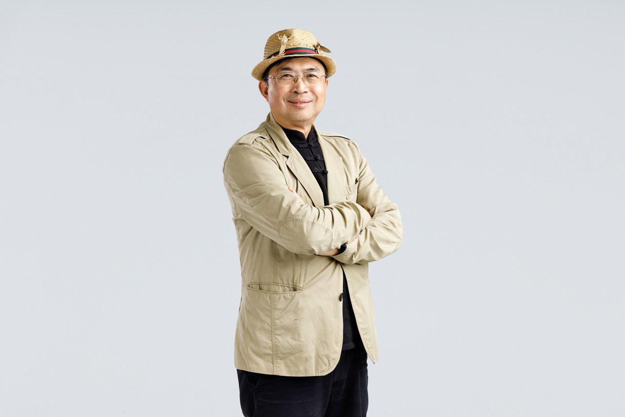 林三元說自己退休後就是要「讓陌生人快樂」,這個願望已經走在逐夢踏實的路上! 攝影...