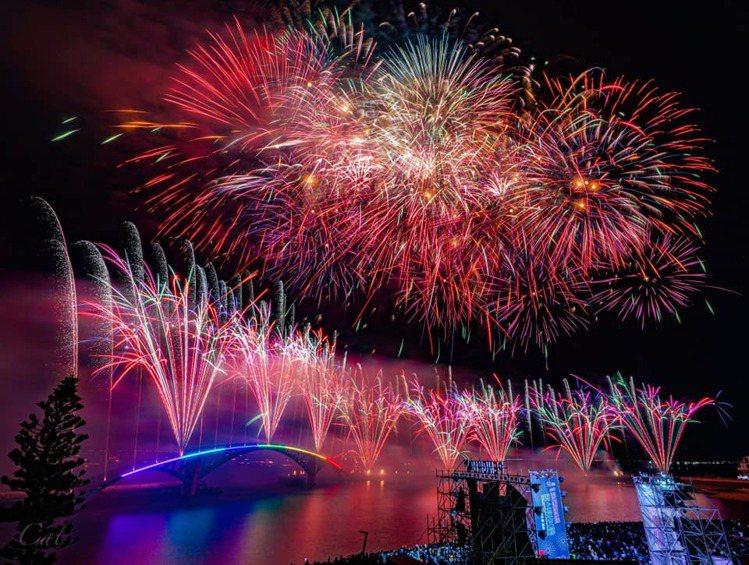 2021澎湖國際海上花火節將於4月22日登場。 圖/澎湖國際海上花火節
