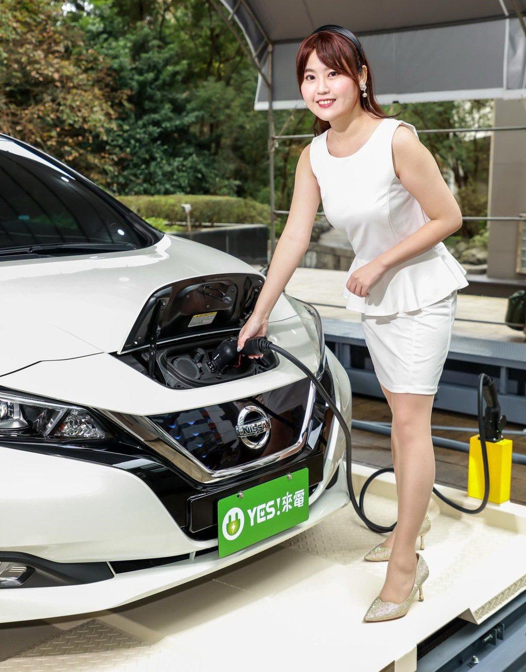全台首創的「APS機械車位充電系統」。 圖/裕電能源提供