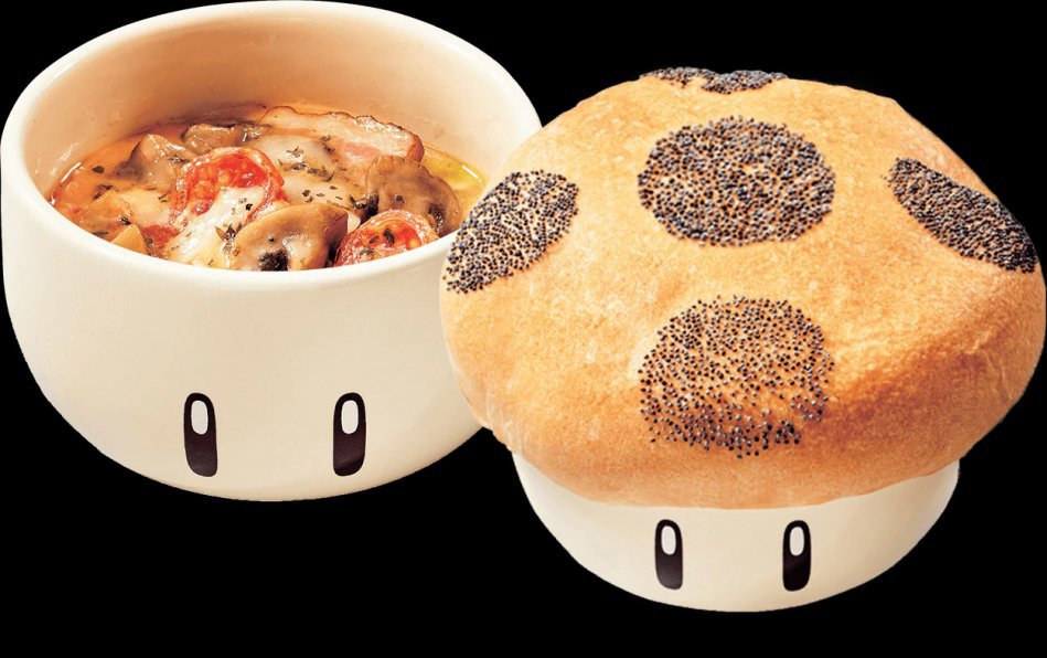 這個蘑菇披薩碗也太可愛了!