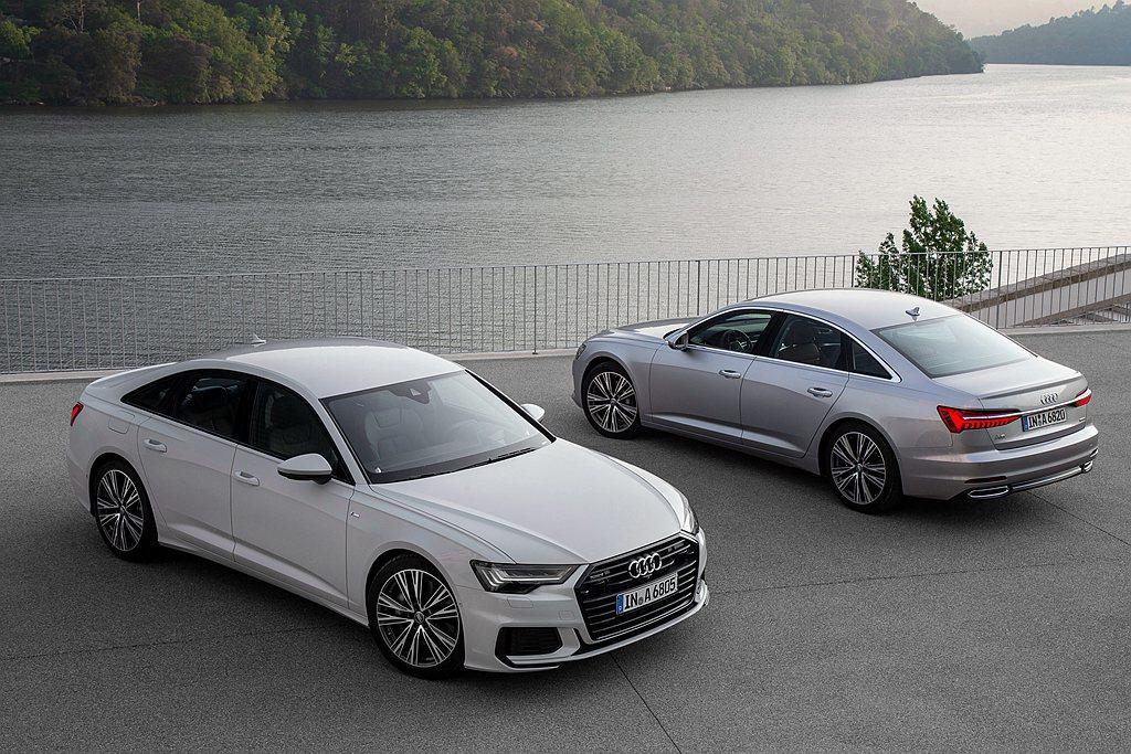 台灣奧迪宣佈2021年式Audi A6、A6 Avant正式上市,並針對2021...