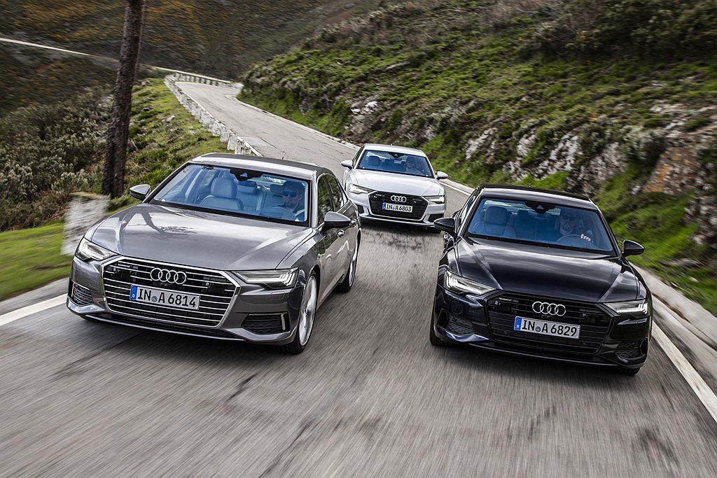 2021年式Audi A6 40 TFSI汽油動力包含40 TFSI、40 TF...