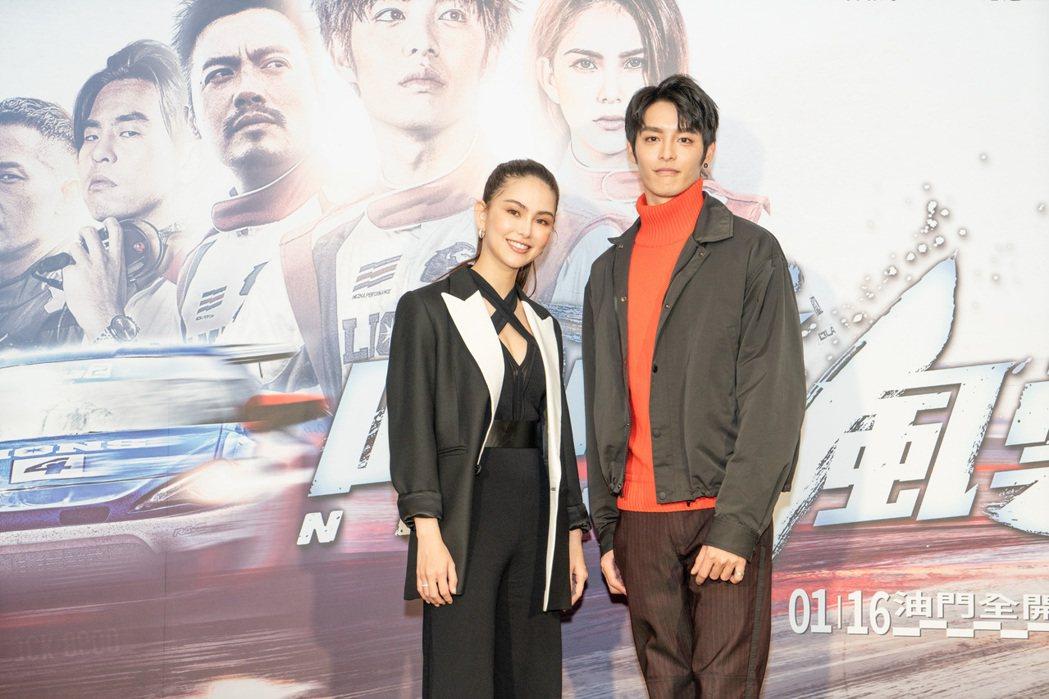 《叱咤風雲》演員昆凌、曹佑寧。圖/齊石傳播提供