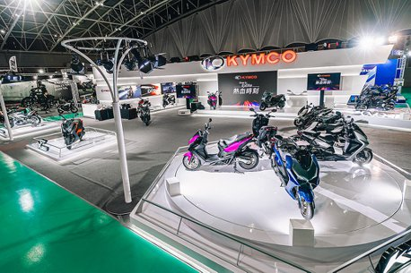 DT X360售價公布、KRV公開亮相!KYMCO於國際重型機車展精銳盡出