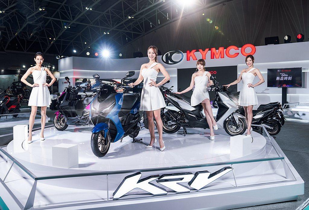 KYMCO KRV自2020年12月11日正式公佈售價:KRV ABS版為112...