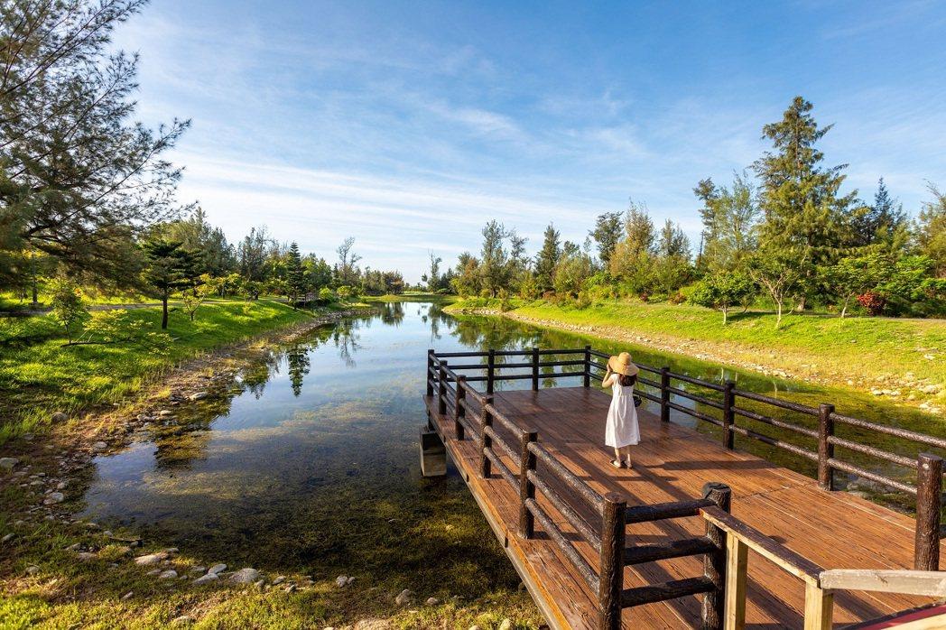 台東森林公園琵琶湖。圖/可樂旅遊提供