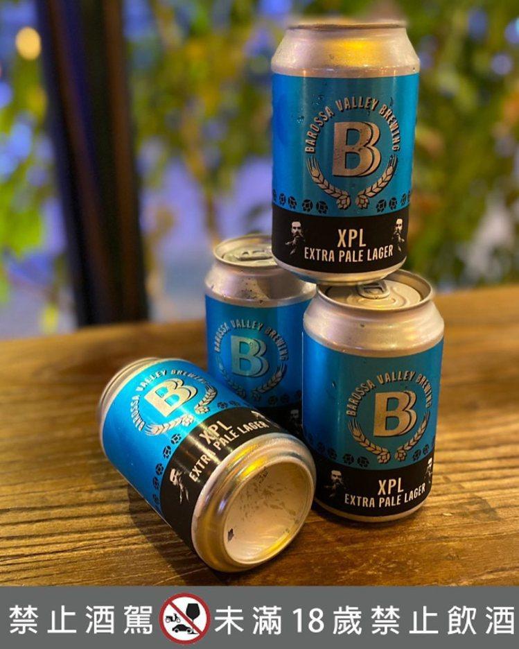 屬於拉格類型的「打貓風格(XPL Extra Pale Lager)」精釀啤酒,...