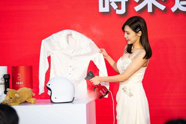 燦坤與瑞士熨燙品牌LAURASTAR合作,全新IGGI手持式高壓蒸氣掛燙機即日起...