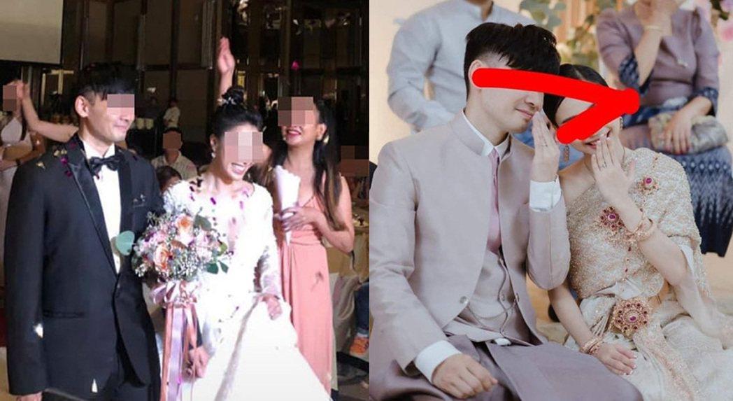 泰國一名女子近日翻看facebook時,發現別人婚禮照片上的新郎非常眼熟,仔細一