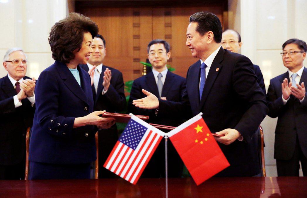 趙小蘭與麥康諾兩人,並沒有遵守利益迴避程序,反而透過內閣與國會的執政權力裙帶關係...