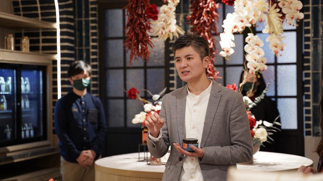 杜甲A-Ma香料體驗概念店創辦人李威辰。 圖/沈佩臻攝影