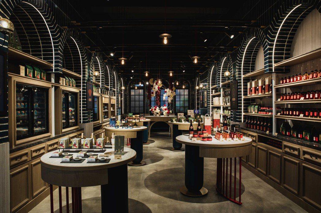 香料體驗概念店杜甲A-Ma,依醬、油、粉、茶與食品打造五大體驗區。 圖/杜甲A-...