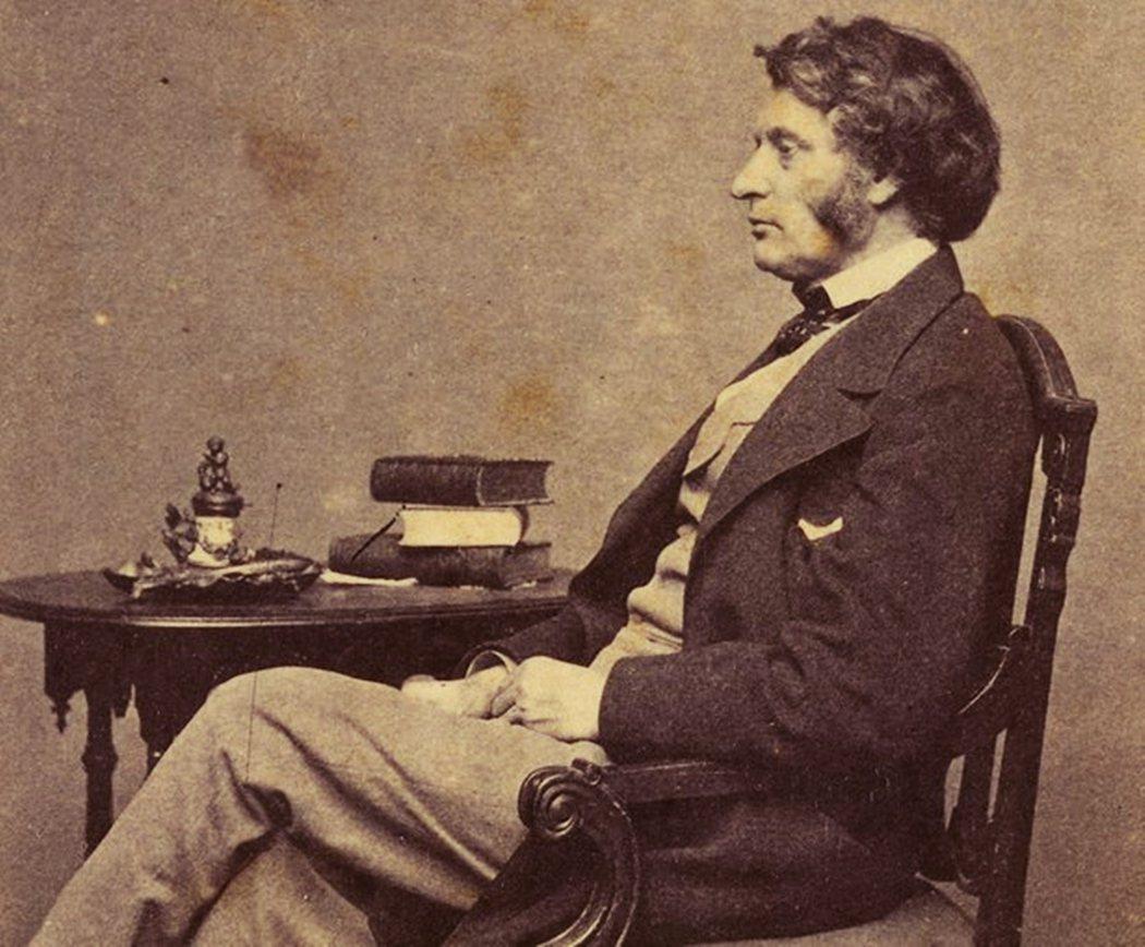 一生主張廢奴的共和黨參議員查爾斯.薩姆納(Charles Sumner)。 圖/...