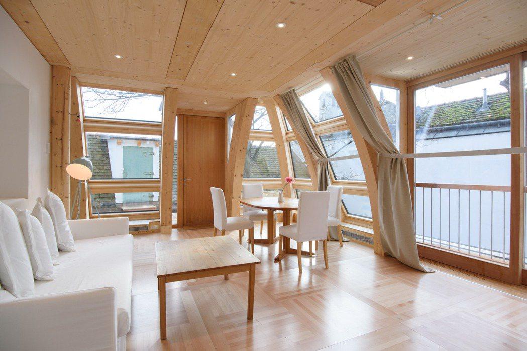 維也納陽光小屋。 Airbnb /提供