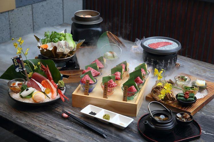 藝奇新推出的「極上套餐」,共有4款主餐可選,每套980元。記者陳睿中/攝影