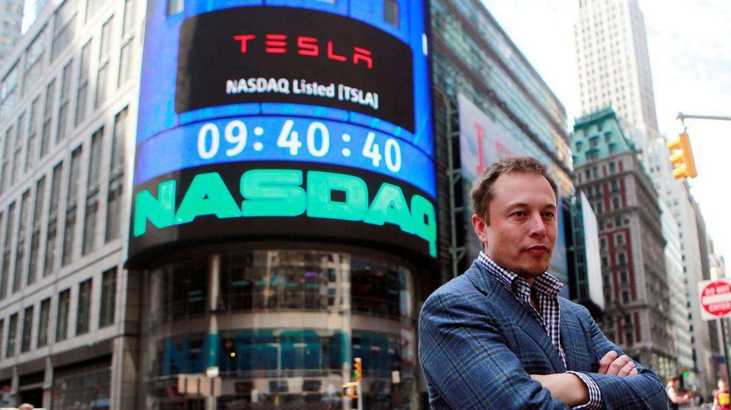 特斯拉(Tesla)創辦人兼執行長馬斯克(Elon Musk)2010年6月29...