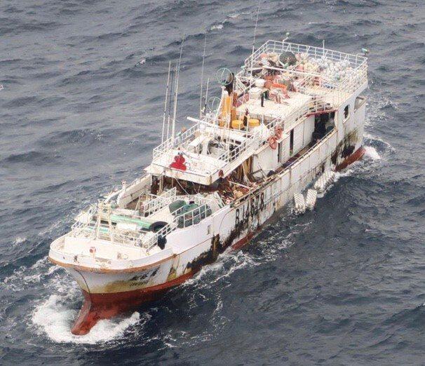 「永裕興18號」漁船失聯中。圖 / 漁業署提供