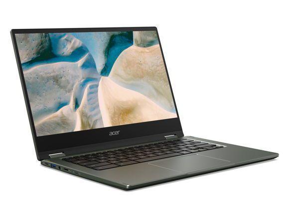 宏碁推出全新Chromebook Spin 514 首度搭載AMD行動處理器。宏碁/提供