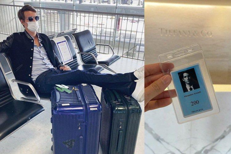 LVMH集團主席次子Alexandre Arnault本來就是RIMOWA行李箱...