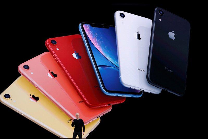 蘋果公司iPhone。路透