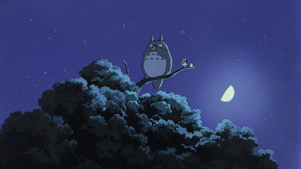 「龍貓」是宮崎駿最膾炙人口的名作,月底將在台重映。圖/甲上提供