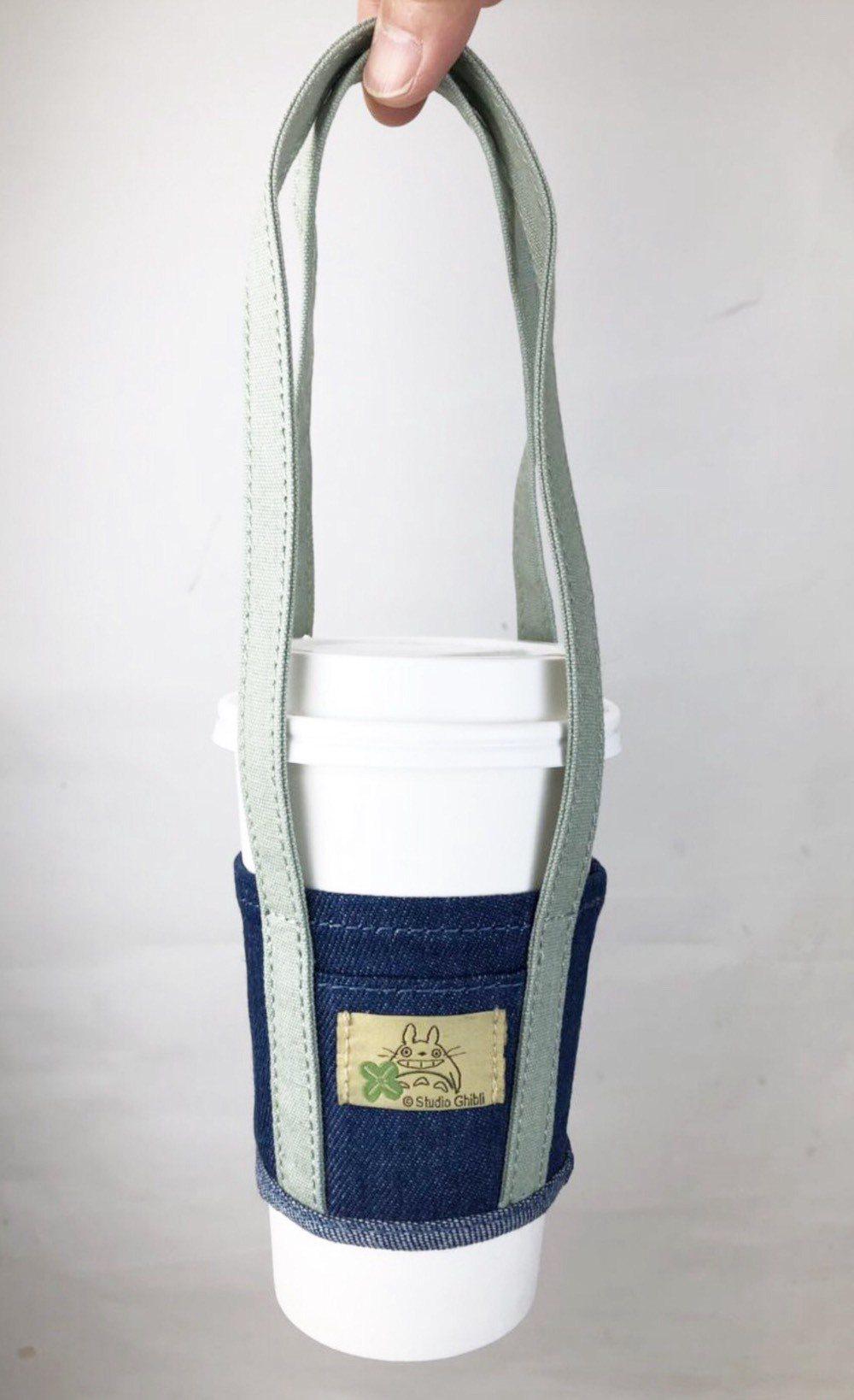 購買「龍貓」套票組會贈送官方限量飲料提袋。圖/甲上提供