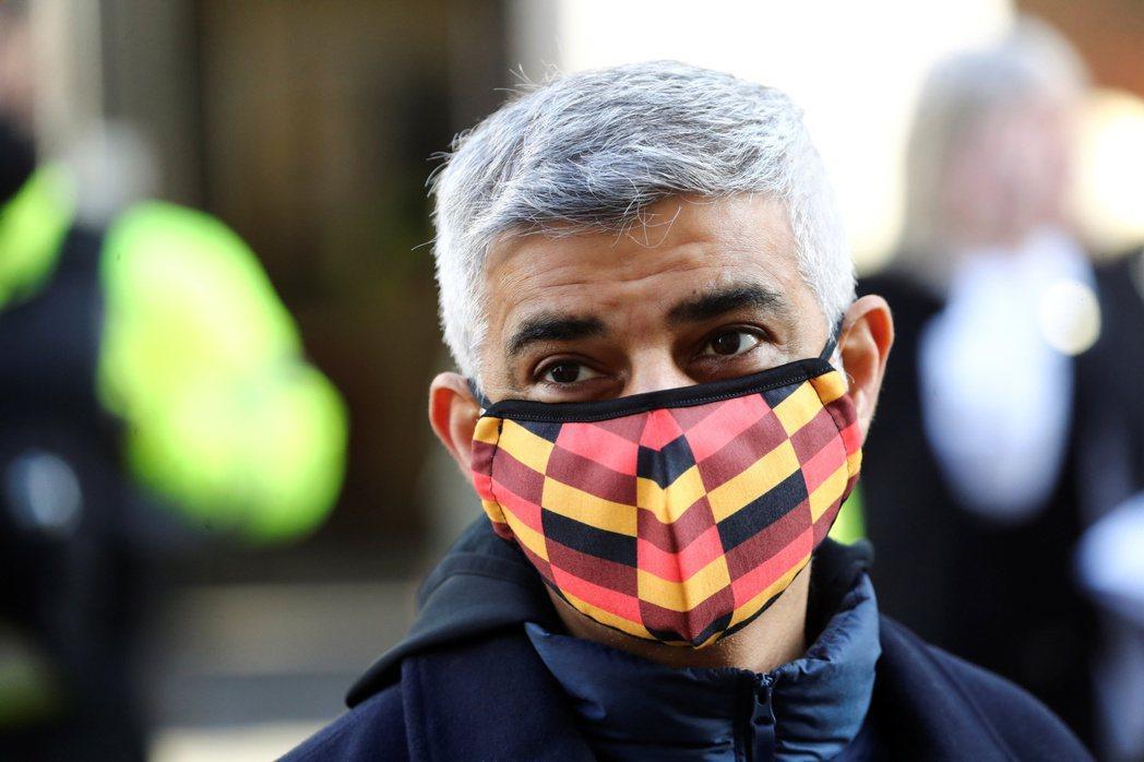 英國倫敦市長可汗八日宣布,倫敦進入「重大事件」狀態。(路透)