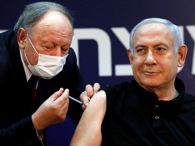 在展開疫苗接種計畫前夕,以國總理內唐亞胡在上月19日率先公開接種新冠疫苗。路透