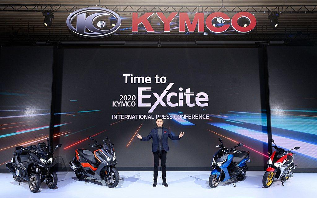 連續21年台灣機車市場銷售冠軍的光陽工業(KYMCO),年度銷售總額來到350,...