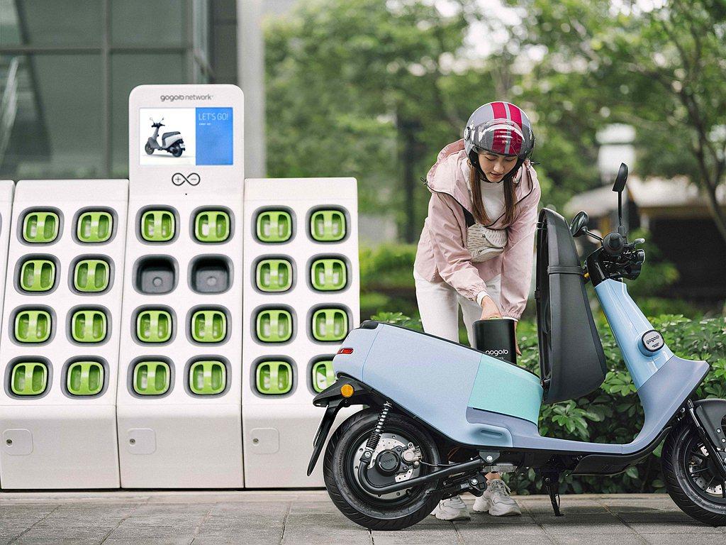 Gogoro自去年就開始轉向加強後勤服務,包括充電站數量,換到「飽電」電池的機率...
